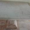 โต๊ะหินอ่อน ทรงสี่่เหลี่ยม ยาว 100 เซนติเมตร กว้าง115 สูง 80 เซนติเมตร