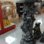 เสาว์โชว์หินทราย ลายมังกร สีดำ ขนาด สูง 80 เซนติเมตร กว้าง 20 เซนติเมตร thumbnail 1
