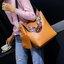 กระเป๋าหนัง FASHION หนังสวย แถมใบเล็ก มีสายสะพาย 2 เส้น ขนาด 12 นิ้ว thumbnail 1