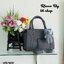 กระเป๋าแฟชั่น ห้อยหมีสุดน่ารัก หนัง pu อัดลาย thumbnail 3