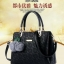กระเป๋านำเข้า ขนาด 12 นิ้ว ** หนังสวย pu ดีไซร์สวยเก๋ เรียบหรู หิ้วได้ สะพายได้ thumbnail 4