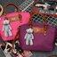 กระเป๋าสะพายนำเข้า รุ่นทรงคล้าย Longchamp ห้อยน้องหมี ฺฺBrand thumbnail 9