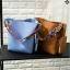 กระเป๋าหนัง FASHION หนังสวย แถมใบเล็ก มีสายสะพาย 2 เส้น ขนาด 12 นิ้ว thumbnail 7