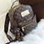 กระเป๋าเป้ลายตาราง แถมฟรีพวงกุญแจน้องหมีสุดน่ารักเก๋ไก๋ ซับในสีน้ำตาล thumbnail 1