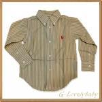 เสื้อเชิ้ตเด็กชาย เสื้อเด็กแบรนด์เนม เสื้อเชิ้ตเด็กยี่ห้อโปโล Polo Ralph Lauren Baby Boy Clothes สินค้านำเข้าของแท้ 100% ขนาด 2/2T , 3/3T , 4/4T