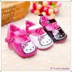 รองเท้าเด็ก Pre-walker Baby Shoes รองเท้าเด็ก รองเท้าเด็กผู้หญิงน่ารัก รองเท้าเด็กหญิงวัยหัดเดิน KT hello kitty