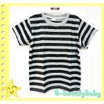 เสื้อผ้าเด็ก เสื้อผ้าเด็กชาย เสื้อ T-Shirt คอกลมแขนสั้น ผ้าคอตตอน size 10