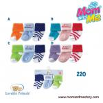 Luvable Friends ถุงเท้าเด็ก แรกเกิด 0-3 เดือน แพค 3 คู่