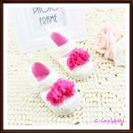 Mothercare Pre-walker Baby Shoes รองเท้าเด็ก รองเท้าเด็กผู้หญิง รองเท้าเด็กวัยหัดเดิน รองเท้าเด็กแบรนด์เนม มาเธอร์แคร์
