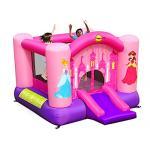 Happy hop บ้านเด็กเป่าลม jumping castles บ้านลม สไลเดอร์เป่าลม Princess Jumping Castle with slide กระโดดเด้งดึ๋ง
