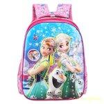 กระเป๋าเป้เด็ก กระเป๋าเด็กลายการ์ตูน กระเป๋าเป้เด็ก กระเป๋าสำหรับเด็กอนุบาล กระเป๋าสำหรับเด็กประถม น่ารักๆ เอลซ่า (2)