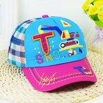 หมวกเด็ก หมวกเด็กเล็ก หมวกเด็กอนุบาล หมวกแก็บเด็ก สีฟ้า