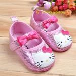 เฮลโลคิตตี้ Hello Kitty Pre-walker Baby Shoes รองเท้าเด็ก รองเท้าเด็กแบรนด์เนม รองเท้าเด็กผู้หญิงน่ารัก รองเท้าเด็กหญิงวัยหัดเดิน