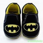 รองเท้าเด็ก Pre-walker Baby Shoes รองเท้าเด็ก รองเท้าเด็กวัยหัดเดิน แบทแมน batman พร้อมส่ง