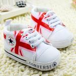 Converse baby Pre-walker Baby Shoes รองเท้าเด็ก รองเท้าเด็กชายวัยหัดเดิน ยี่ห้อ Converse baby Size 12-18