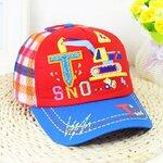 หมวกเด็ก หมวกเด็กเล็ก หมวกเด็กอนุบาล หมวกแก็บเด็ก สีแดง