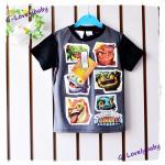 เสื้อผ้าเด็กชาย เสื้อ T-Shirt คอกลมแขนสั้น ผ้าคอตตอน ของแท้ skylander giants ไซต์ 100 cm อายุ 3-4ขวบ