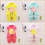 ชุดเด็กหญิง ชุดเสื้อกางเกงเด็ก ชุดเด็กสไตล์เกาหลี น่ารักๆ อายุ 1-4 ขวบ