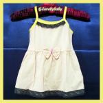 เสื้อผ้าเด็ก ชุดกระโปรงเด็กหญิง ชุดสายเดี่ยว ไซต์ M