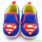 รองเท้าเด็ก Pre-walker Baby Shoes รองเท้าเด็ก รองเท้าเด็กแบรนด์เนม รองเท้าเด็กน่ารัก รองเท้าเด็กวัยหัดเดิน ซุปเปอร์แมน superman พร้อมส่ง