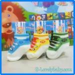 ถุงเท้าเด็กทารกแรกเกิด ถุงเท้าเด็กอ่อน ถุงเท้าเด็กสไตล์รองเท้า ถุงเท้าเด็ก ถุงเท้าเด็กชาย ถุงเท้าเด็กหญิง แพค 3 คู่ ขนาด 6-9 เดือน Pack C