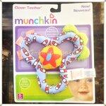 ของเล่นเด็กทารก Munchkin Baby's Toy Clover Teether ของเล่นกล่อมลูกนอน