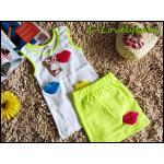 เสื้อผ้าเด็ก ชุดเด็ก ชุดเด็กหญิง ชุดเสื้อกระโปรงเด็กหญิง ชุดลำลองเด็กหญิง ชุดเด็กหญิงแฟชั่นเกาหลี Size L