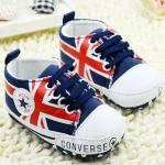 Converse baby Pre-walker Baby Shoes รองเท้าเด็ก รองเท้าเด็กชายวัยหัดเดิน ยี่ห้อ Converse baby Size 12-18