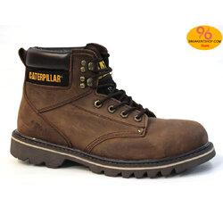 """รองเท้า CATERPILLAR CAT SECOND SHIFT 6"""" STEEL TOE เทาสนิม หนังออยล์ รองเท้าเซฟตี้ หัวเหล็ก size 39-45 สินค้าใหม่"""