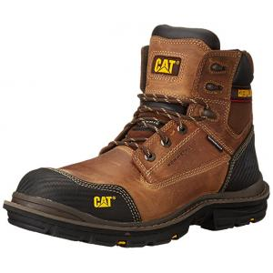 รองเท้า Caterpillar Men's Fabricate 6 Inch Tough WP CT Work Boot หัวเหล็ก Size 40 - 45