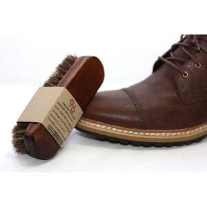 แปรงขนม้า 100% ใช้ขัดหนังกระเป๋า รองเท้า เข็มขัด ขนาดยาว