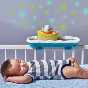 Taf Toys Musical Boat cot toy BEST TOY 7 awards 2016 โมบายปล่อยเเสง วิ่งได้ ทำให้การนอนของลูกเป็นเรื่องง่าย เล่นได้จนโต Toys Easier Sleep