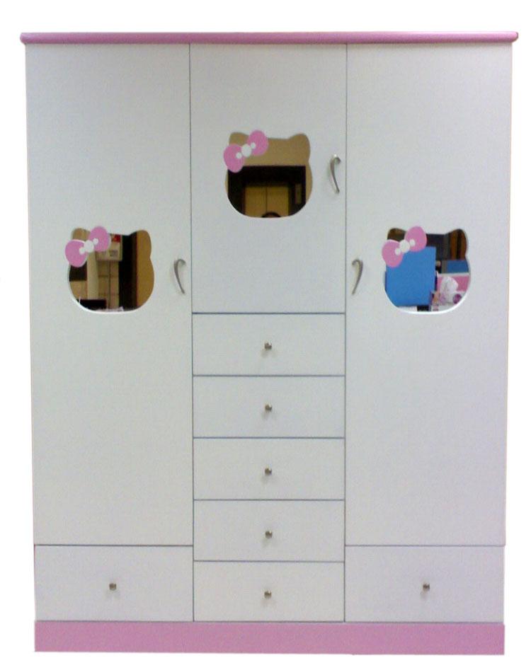 ตู้เสื้อผ้า Hello Kitty