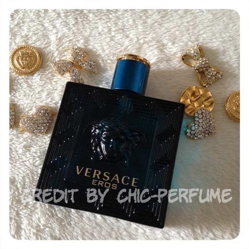 น้ำหอม Versace Eros EDT 100 ML. (มีกล่อง)