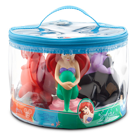 z The Little Mermaid Squeeze Toy Set