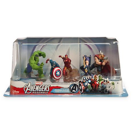 z Avengers Assemble Figure Play Set