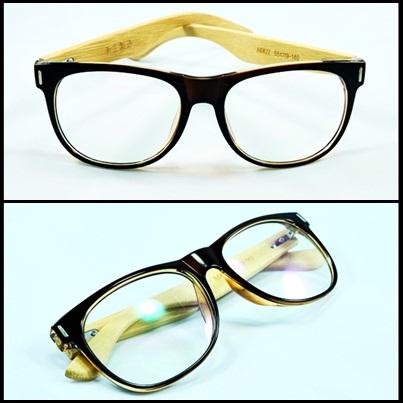 กรอบแว่นตา LENMiXX Brown Wood