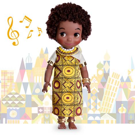 z Disney ''it's a small world'' Kenya Singing Doll - 16'' (พร้อมส่ง)