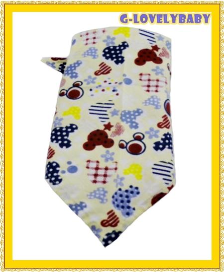 สินค้าแม่และเด็ก ผ้ากันเปื้อน ผ้าพันคอ ผ้าโพกหัว ผ้าเช็ดน้ำลาย ทำได้หลายสิ่งหลายอย่างเพื่อการแต่งตัว มิกกี้สีฟ้า