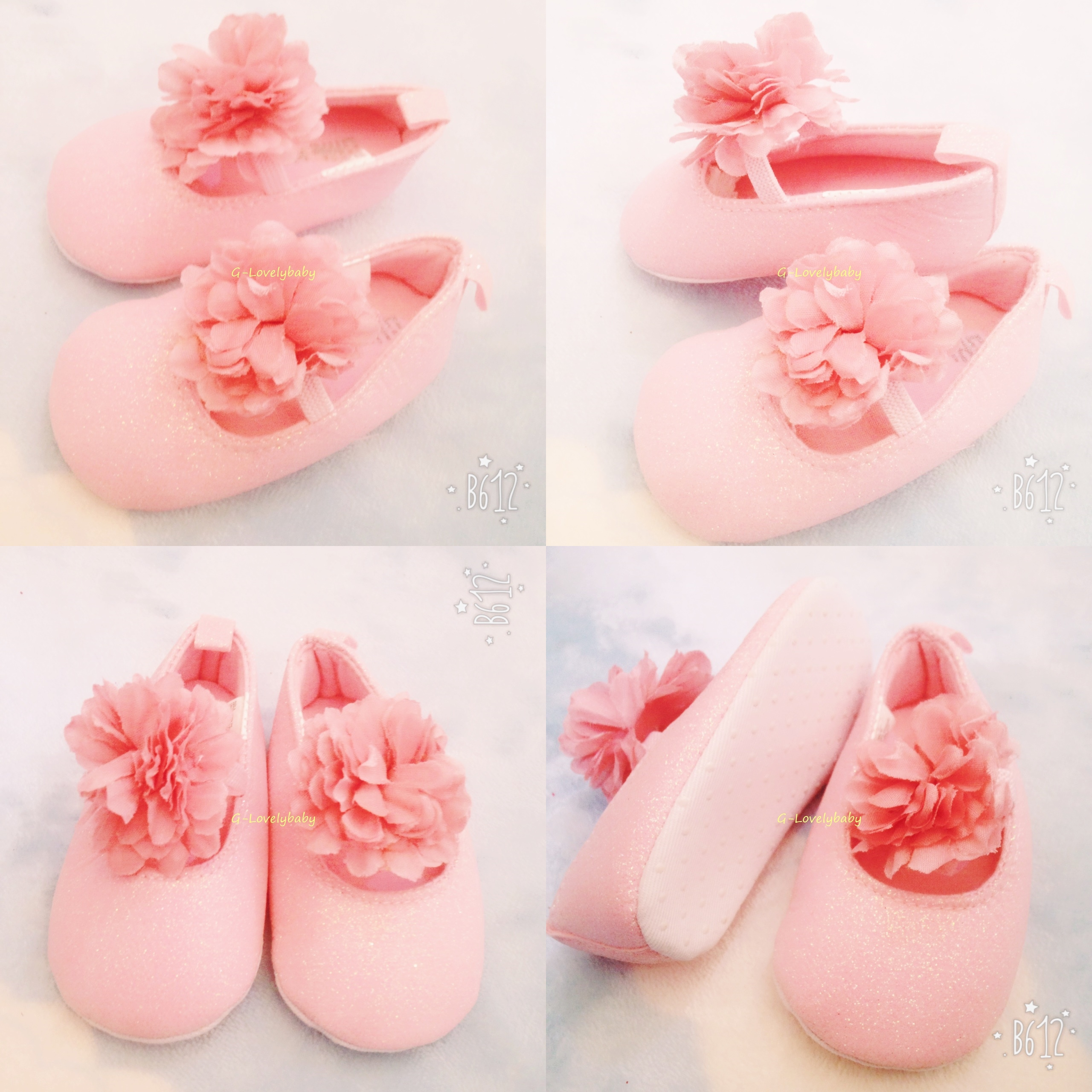 รองเท้า รองเท้าเด็ก รองเท้าเด็กวัยหัดเดิน รองเท้าเด็กทารก รองเท้าเด็กอ่อน pre walker baby shoes (10.5/10cm)