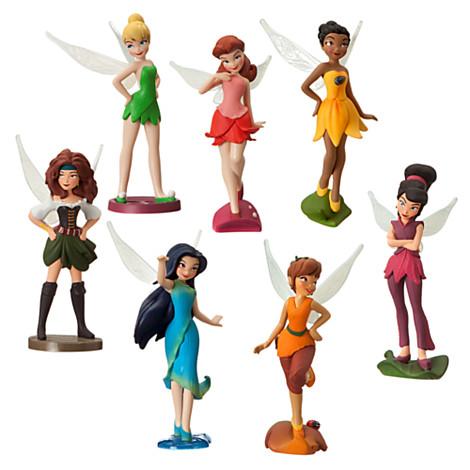 Z Disney Fairies Figurine Play Set