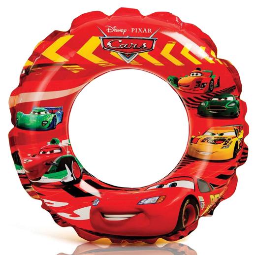 """Disney Cars Swim Ring Size20"""", Age3-6 ห่วงยางว่ายน้ำ ลายคาร์ ขนาด20นิ้ว 58260 ดีสนีย์แท้ ลิขสิทธิ์แท้"""