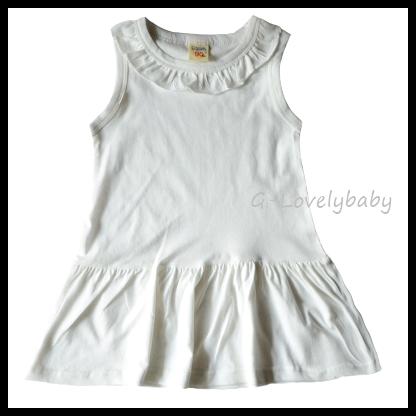 ชุดเด็กหญิง ชุดเดรสเด็ก ชุดกระโปรงเด็กหญิง ชุดเด็กหญิงสีขาว