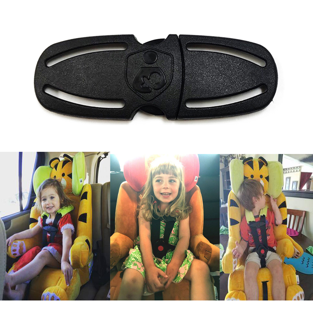 ตัวล็อคเข็มขัดนิรภัยในรถสำหรับเด็ก Baby Safety Car Seat Strap Belt