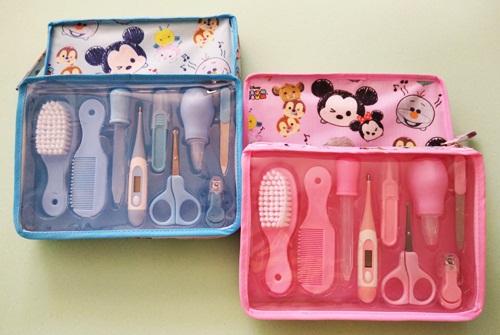 ฺกระเป๋า Baby Care Kit Set ชุดหวีแปรง/ตัดเล็บทารก/ปรอทวัดไข้