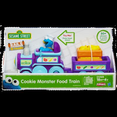 Sesame Street Cookie Monster Food Train Playskool ของแท้ นำเข้าจากอเมริกา