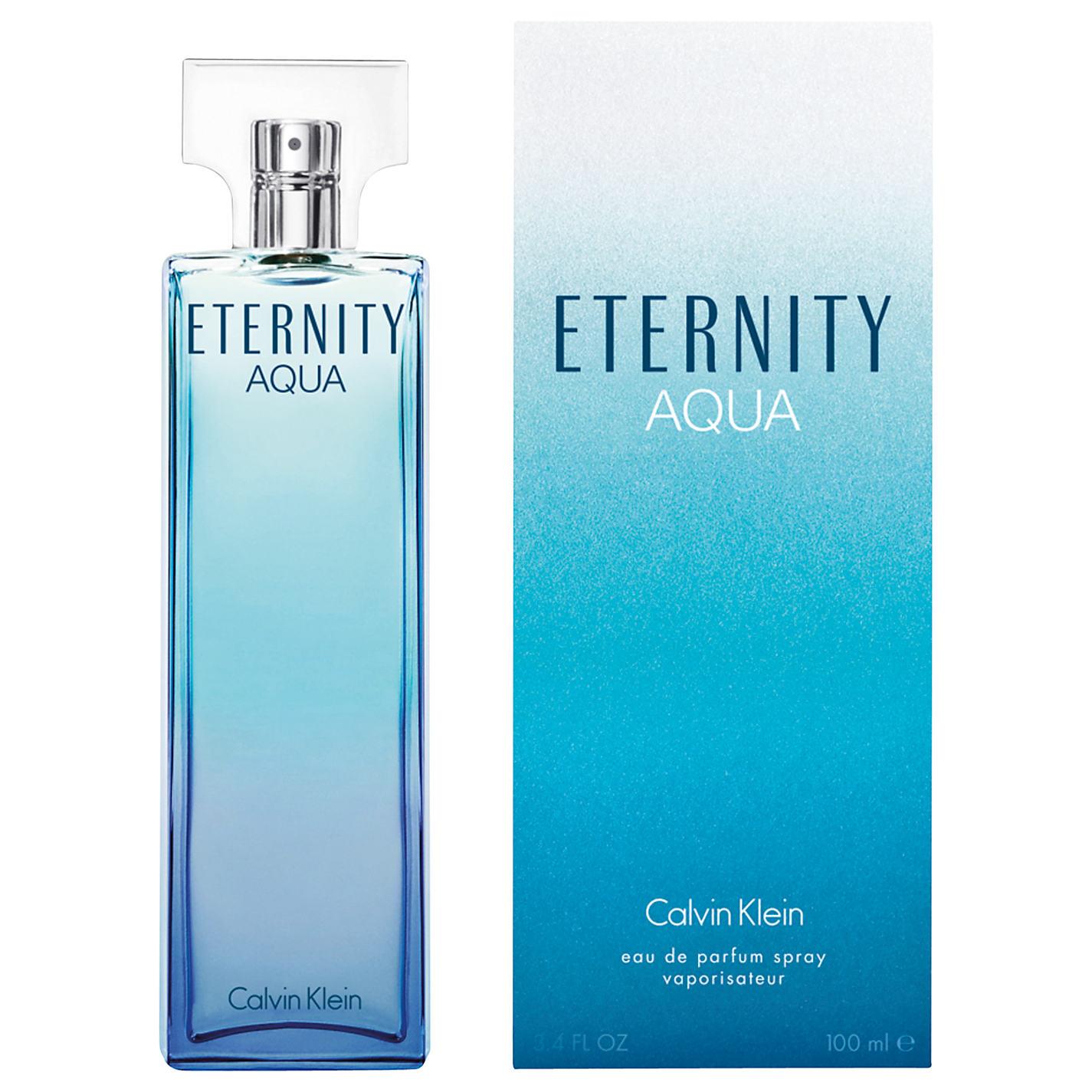 น้ำหอม CK Eternity Aqua For Women ขนาด 100ml.กล่องซีล