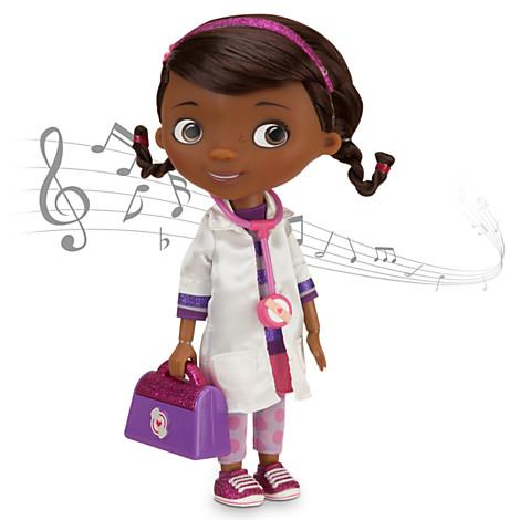 ฮ Doc McStuffins Talking and Singing Doll - 10''