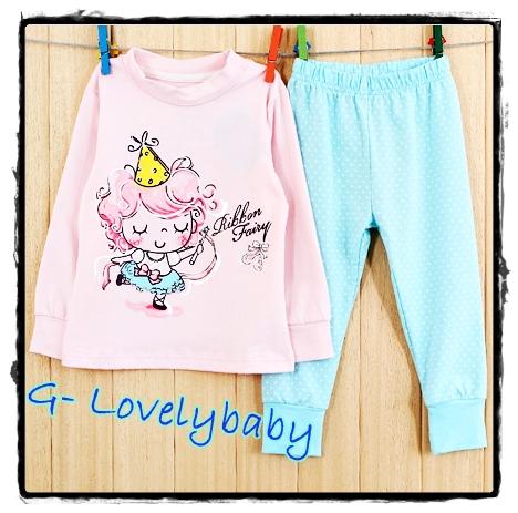 ชุดนอนเด็ก หญิง ชาย ชุดนอนเด็ก แบรนด์เนม Bailiweini ชุดนอนเด็ก Baby pajamas size 130 ( 5-6 ปี)