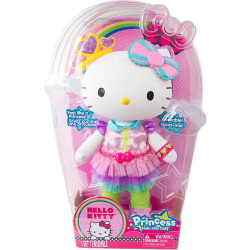 z Hello Kitty Large Princess Doll ตุ๊กตาเจ้าหญิงคิตตี้ น่ารัก น่ากอด